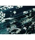 Metallic Velvet Burnout Fabric 54\u0022-Botanical Garden