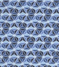 Snuggle Flannel Fabric 42\u0022-Twilight Geometric