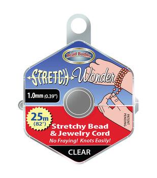 The Bead Buddy Stretch Wonder 1 mm Stretchy Bead & Jewelry Cord