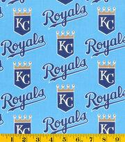 Kansas City Royals Cotton Fabric 58''-Mascot Logo, , hi-res