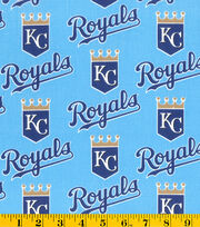 Kansas City Royals Cotton Fabric -Mascot Logo, , hi-res