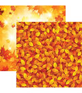 Autumn Splendor Double-Sided Cardstock 12\u0022X12\u0022-Splashes Of Color