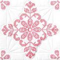 Stamped White Quilt Blocks 18\u0022X18\u0022 6/Pkg-Colonial Williamsburg