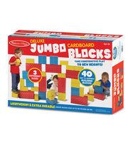 Melissa & Doug 40 pk Deluxe Jumbo Cardboard Blocks, , hi-res