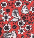 Quilter\u0027s Showcase Fabric -Fushion Navy Birds