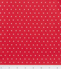 Holiday Cotton Fabric -Red Dot
