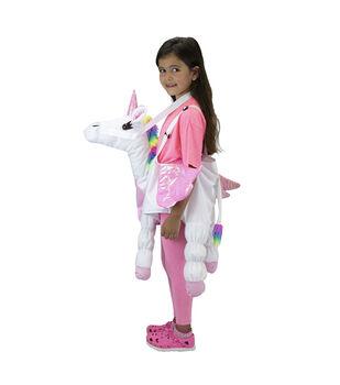 Maker's Halloween Child Costume-Riding Unicorn