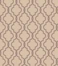 Eaton Square Lightweight Decor Fabric 55\u0022-Check/Silver