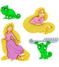 Disney Dress It Up Button Embellishments-Rapunzel