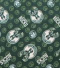 Milwaukee Bucks Fleece Fabric 58\u0022-Logo Toss