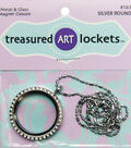 Quilled Creations Round Jewelry Locket