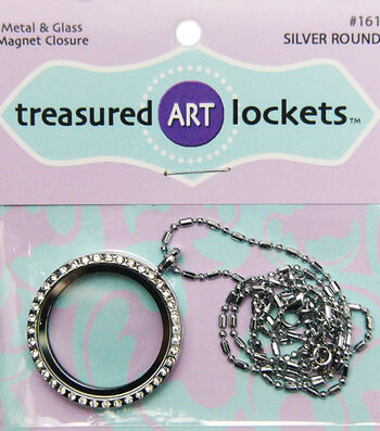Quilled Creations Round Jewelry Locket