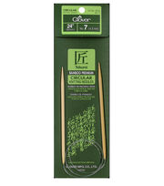 "Takumi Bamboo Circular Knitting Needles 24""-Size 7/4.5mm, , hi-res"