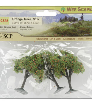 Orange Trees-3 Pk
