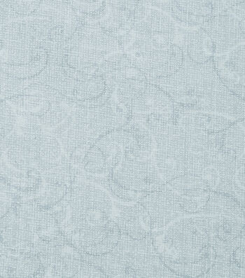 Christmas Cotton Fabric-Swirls & Vines