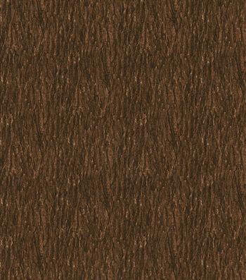 "Keepsake Calico Cotton Fabric 43""-Natural Bark Brown"