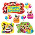 Monkey Mischief Birthday Bulletin Board Set, 2 Sets