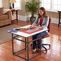 Sullivans Adjustable Add a Table Craft Table