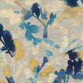 Home Decor 8\u0022x8\u0022 Fabric Swatch-Waverly Leaf Storm Indigo
