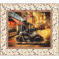 Quilt Kit-Indian Motorcycle Out On The Town by Riley Blake