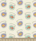 Fish Bowls Print Fabric