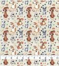 Novelty Cotton Fabric-Watercolor Doggies