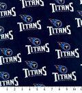 Tennessee Titans Cotton Fabric -Logo