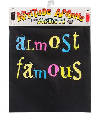 Attitude Artist Apron Black-Almost Famous