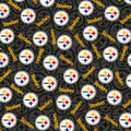 Pittsburgh Steelers Cotton Fabric -Toss