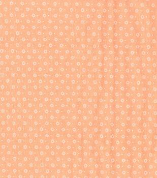 Wide Flannel Fabric -Georgia Geometric Floral