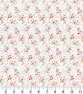 Premium Prints Cotton Fabric 43\u0022-White Geo Dots