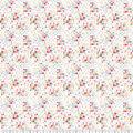 Premium Prints Cotton Fabric-Geometric Dots on White