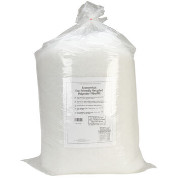 Eco-Friendly Recycled Polyester Fiberfill-White