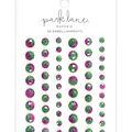 Park Lane Paperie 56 pk Bling Embellishments-Green & Purple