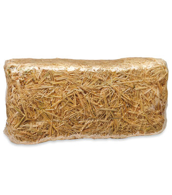 Blooming Autumn 20'' Straw Bale