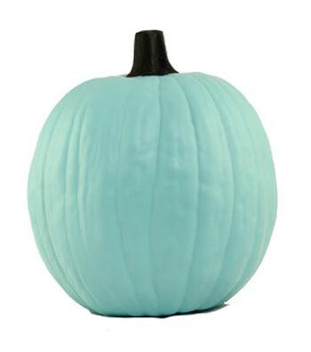 Fun-Kins Carvable Pumpkin Jeanie-Teal