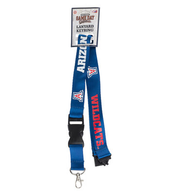 University of Arizona Wildcats Lanyard Keychain
