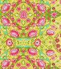 Waverly Reflection Pool Lightweight Decor Fabric 54\u0022-Green Tea