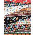 Riley Blake Fat Quarter Bundle-Tootsie Roll Mr. Owl & Friends, 9pcs