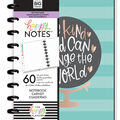 The Happy Planner Medium Notebook with 60 Sheets-One Kind World