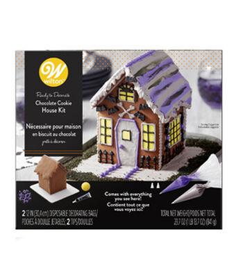 Wilton Gingerbread House Kit-Halloween Haunted House