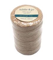 hildie & jo 100% Natural Jute Cord 200 yds, , hi-res