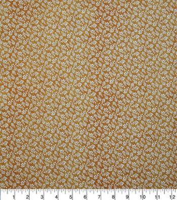 Harvest Quilt Fabric-Mini Autumn Leaves