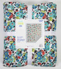 No Sew Fleece Throw 72\u0022-Floral Roselynn Sterling