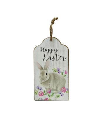 Easter Door Hanger-Happy Easter & Bunny
