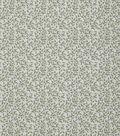 Keepsake Calico Cotton Fabric 43\u0022-Green Vine On Cream