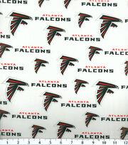 Atlanta Falcons Cotton Fabric 58''-Logo, , hi-res