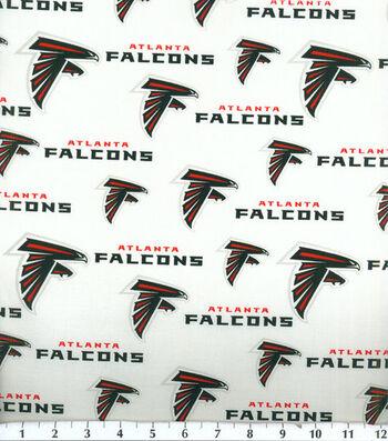"""Atlanta Falcons Cotton Fabric 58""""-Logo"""