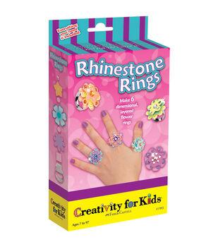 Creativity For KidsRhinestone Rings Kit