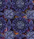 Modern Cotton Fabric -Intricate Medallions